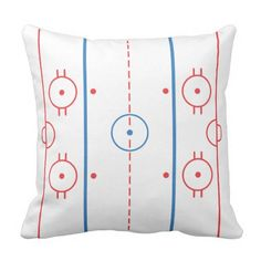 (Ice) Hockey Rink Pillow