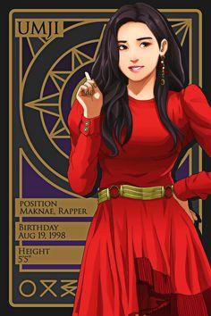 Kpop Girl Groups, Korean Girl Groups, Kpop Girls, Member Card, Kpop Profiles, G Friend, Kpop Fanart, Mamamoo, Character Art