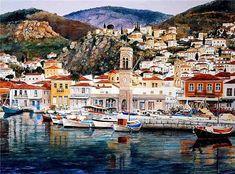 Pantelis Zografos es un talentoso artista Griego