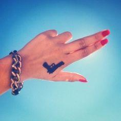 bang bang  #gun#tattoo