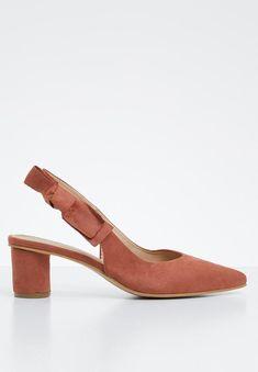 Bow heel - tan Superbalist Heels | Superbalist.com Bow Heels, Two By Two, Kitten Heels, Footwear, Bows, How To Wear, Women, Fashion, Arches