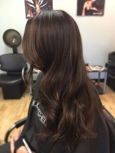 Chocolate chestnut warm brown with caramel highlights for dark hair types – Frisuren – Pin 301 Brown Hair Shades, Brown Ombre Hair, Brown Hair Balayage, Brown Blonde Hair, Light Brown Hair, Brown Hair Colors, Brown Hair Or Black Hair, Warm Brown Haircolor, Types Of Brown Hair