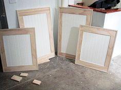 Cabinet Refacing Ideas | Diy cabinets, Diy cabinet doors and Doors