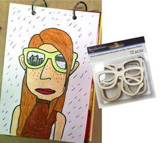Summer Self Portrait - Art Projects for Kids