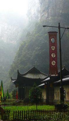 Wulong, Chongqing, China. So dreamy