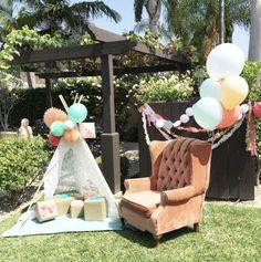 outdoor babyshower basic ideas