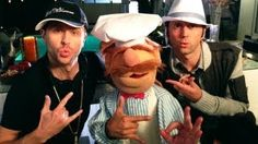 Gersberms (Yer Gervin Mah) - HnP ft. HAYLEY WILLIAMS & SWEDISH CHEF, via YouTube.
