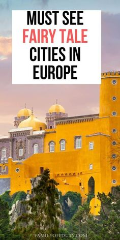 Don't miss these fairytale destinations in Europe; 9 European fairytale like towns and places that should absolutely be on your bucket list! Places In Europe, Europe Destinations, Malta, Travel Tips For Europe, Travel Abroad, Budget Travel, Monaco, Cities In Germany, Germany Europe