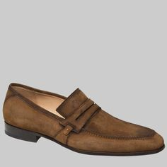 Mezlan Mens Shoes Ulpio Cognac Suede Loafers 8249 Material: Suede With Rustic Oiled Finish Hardware: None Color: Cognac Outer Sole: Full Leather Sole Insole: Injected Memory Foam Cushioned Insole Updated Artisan Penny Loafer Comes with original Mens Loafers Shoes, Suede Loafers, Penny Loafers, Suede Shoes, Loafer Shoes, Slip On Shoes, Men's Shoes, Dress Shoes, Wing Shoes