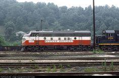 RailPictures.Net Photo: WM 7150 Western Maryland Railway EMD F7(A) at Grafton, West Virginia by Donald Haskel
