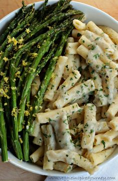 Creamy Lemon Ziti w Roasted Asparagus- tried but it cooled and texture became weird due t o beans. Not a fan...lacked flavor. LJ