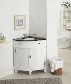 1000 Ideas About Corner Sink Bathroom On Pinterest Vanity