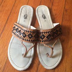Rue 21 Tribal Flip Flops