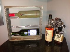 Awesome 3 Bottle Wine Rack by BCCustomCreations on Etsy, $70.00