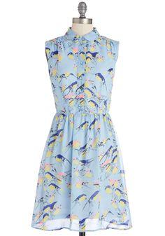 Wingin' It Dress | Mod Retro Vintage Dresses | ModCloth.com