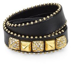 Love at first sight! Juicy Leather Wrap Bracelet