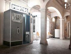 #fotoautomat #photomaton  #vintage Les rencontres d'Arles