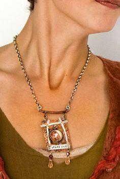 Heart Art Necklace | Flickr - Photo Sharing!