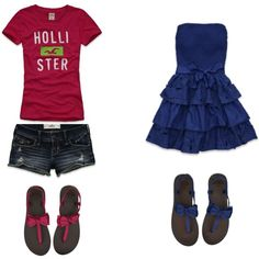 Hollister Outfit. Looove the shoes:)