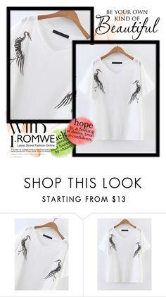"""Romwe"" by up-with ❤ liked on Polyvore featuring WALL"