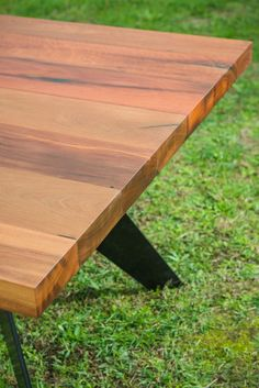 Sunnymead Recycled Messmate Solid Timber Dining Table.  Http://www.bomboracustomfurniture.com.au/shop/sunnymead Box Leg Dining Table  | Pinterest | Timber ...