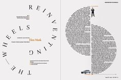 Great example of typography and design for magazine page layout. – Design is art Magazine Layout Inspiration, Layout Design Inspiration, Magazine Layout Design, Typography Inspiration, Magazine Layouts, Design Ideas, Text Layout, Print Layout, Layout Book