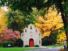 The Portiuncula on the Sylvania Franciscans Motherhouse Grounds #fall #chapel #church #photography #autumn