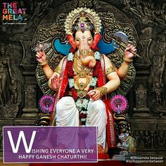 May Lord Ganesha bless you with treasures of health wealth and happiness. #HappyGaneshChaturthi