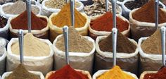Photo about Indian spices at the Anjuna fleamarket, Goa, India. Image of curry, anjuna, spices - 13208187 Healthy Indian Recipes, Indian Foods, Indian Dishes, Masala Chai, Garam Masala, Western Food, Spice Mixes, Spice Blends, Spice Things Up