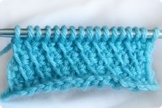 Crocheting the Day Away: Tunisian Crochet How-To… The Bias Stitch