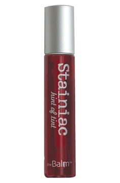 theBalm 'Stainiac®' Cheek & Lip Stain. Best there is, easy to apply, extremely wearable color flush.