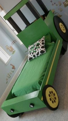 We could make this tractor bed
