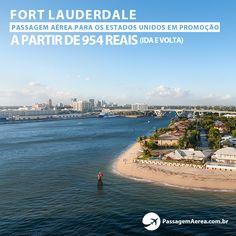 Fort Lauderdale está localizado no Estado da Flórida, a aproximadamente 39 quilômetros de Miami. A cidade possui maravilhosas praias, e é famosa pela quantidade de iates e veleiros que navegam na costa da cidade. Além das movimentadas marinhas, Fort Lauderdale é conhecida pela sua vida noturna, com restaurantes, bares e baladas, que são super bem frequentadas pela elite de Miami e da própria cidade. Saiba mais: https://www.passagemaerea.com.br/fort-lauderdale-estados-unidos.html