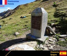 Confini amministrativi - Riigipiirid - Political borders - 国境 - 边界: 2014 ES-FR Prantsusmaa-Hispaania Spagna-Francia