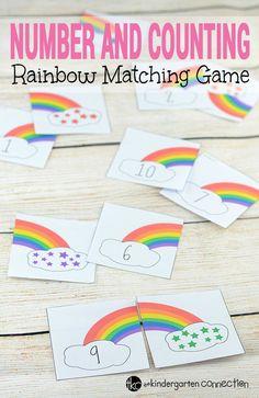 Numbers Kindergarten, Kindergarten Math Activities, Preschool Printables, Preschool Activities, Maths, Preschool Learning Centers, Math Math, Literacy Centers, Math Games