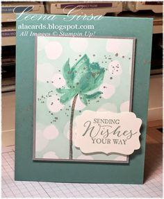 A La Cards:  Lotus Blossom