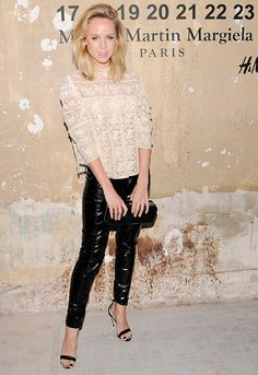 20 Celebs at Maison Martin Margiela for H Launch Party:  Elin King.