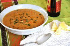 Karahi Lentil Soup.