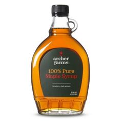 I'm learning all about Archer Farms Pure Grade A Dark Amber Maple Syrup 12-oz. at @Influenster!