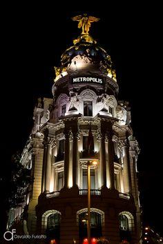 Edifício Metropolis, Madri, Espanha -  Arquitetura e lugares | Osvaldo Furiatto Fotografia e Design
