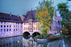 Holy Spirit Hospital Nuremberg  by Habub3