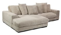 Amazon.com: Moes Home Collection Plunge Reversible Sectional Sofa, Cappuccino: Kitchen & Dining