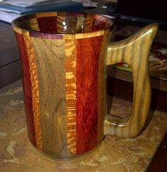 How to make a wooden tankard