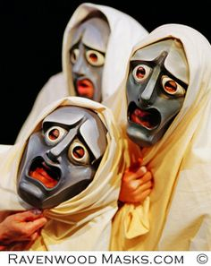 no masks for our chorus, but i love this image.