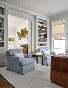 50 Best Living Room Design Ideas for 2019 - The Trending House Bookshelves Built In, Built Ins, Bookcases, Living Room Decor, Living Spaces, Living Rooms, Family Rooms, Southern Homes, Country Homes