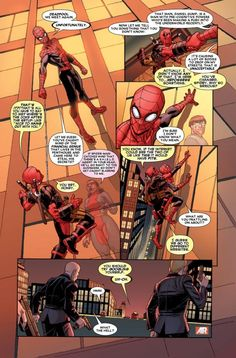 The Superior Spider-Man and Deadpool (from Deadpool #10)