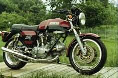 FOR SALE:  1975 Ducati bevel drive 750 GT