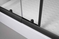 Eckdusche »Trento Black«, variabel verstellbar 80 - 90 cm, Duschkabine online kaufen | OTTO