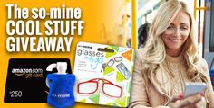 4/10. The so-mine Cool Stuff Giveaway Over $1,000 in cash and prizes, with daily winners!