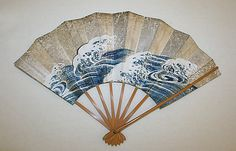 Fan  Date: early 20th century Culture: Japanese Medium: bamboo, paper